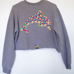 CROPPED OFWGKTA UP DOLPHIN PULLOVER SWEATER